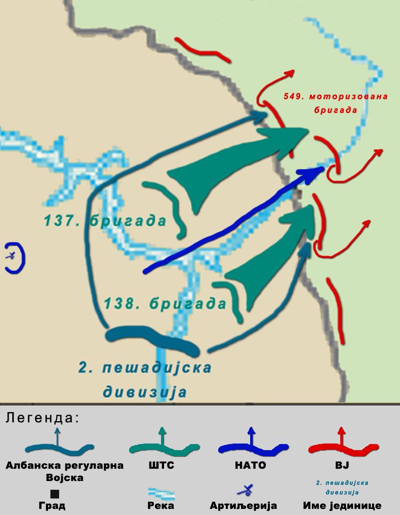 Мапа плана напада