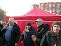 Палатка Справедливой России на митинге в Екатеринбурге 2017.jpg