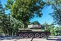 Памятник-танк Иркутский комсомолец улица Декабрьских событий улица 1-й Советская.jpg