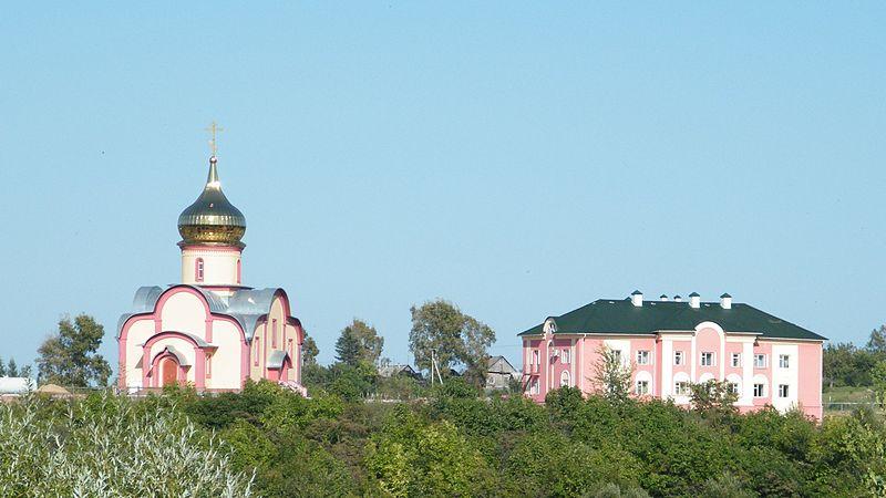 Петропавловский монастырь в Петропавловке