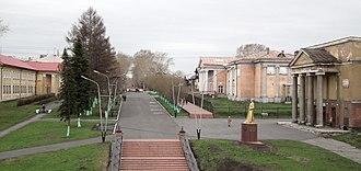 Kemerovo Oblast - Image: Пешеходная аллея panoramio