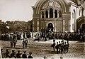 Праздник Бородинского полка. Император Александр III в Брестской крепости. 1886 год 2.jpg