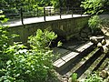 Сергиевка. Мост-плотина в овраге западнее дворца 02.jpg