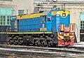 ТЭМ18-363, Казахстан, Западно-Казахстанская область, депо Уральск (Trainpix 127121).jpg