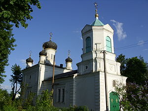 Nevel (town) - The Trinity Church in Nevel