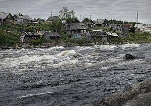 Umba River (Russia) - Image: Умба