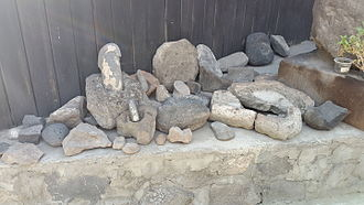 Shengavit Settlement - Stone tools from the Shengavit settlement