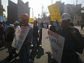 עובדי חברת חשמל בהפגנת תמיכה בעובדי פלאפון המתארגנים.jpg