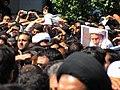 تشییع جنازه آیت الله محمد تقی بهجت در قم Burials in Iran Grand Ayatollah Mohammad Taqi Bahjat Foumani 06.jpg