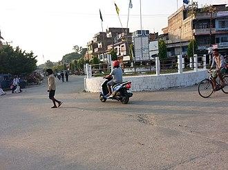 Triyuga - Image: मुख्य चोक, गाईघाट बजार