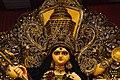 ব্লক - এ. ই. (দ্বিতীয় অংশ), লবন হ্রদ, কলিকাতা (মুখ্য দূর্গা প্রতিমার অতিনিকট চিত্র).jpg