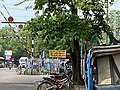 হিজলী, খড়গপুরের একটি রেল ক্রসিঙের নিকট হিজলী স্টেশনের বোর্ড.jpg