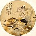任伯年 - 花鸟扇面 3.jpg