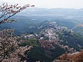 吉野山 上千本からの眺め 2013.4.09 - panoramio.jpg
