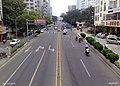 天桥上看蓝天路-By Bigball - panoramio.jpg
