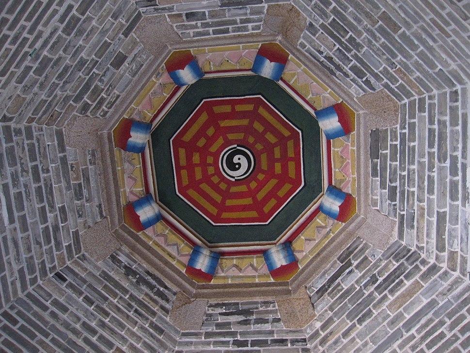 文光塔-二层藻井