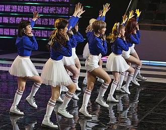 Momoland - Momoland performing at the Pyeongchang Winter Olympics G-100 concert on January 30, 2018.