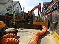 -2019-08-03 Sink hole repairs, High street, Sheringham.JPG