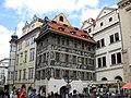 020 Cases de la Banya d'Or, el Minut i el Gall, Staroměstské Náměstí.jpg