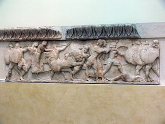 Sifnos - Frieze of the Siphnian Treasury in Delphi