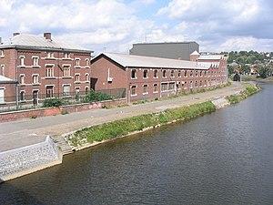 Vieille Montagne - Vieille Montagne factory in Angleur