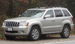 2008 Jeep Grand Cherokee photographed in Colle...