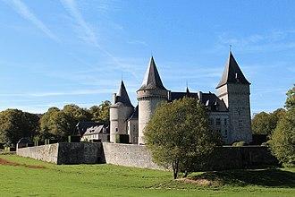 Onhaye - Château de Fontaine, west of Onhaye