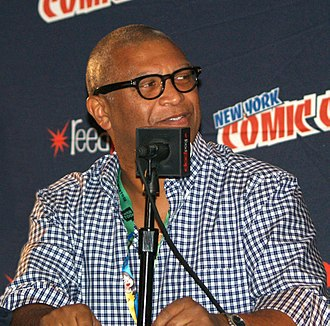 Reginald Hudlin - Hudlin at the New York Comic Con