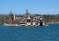 1000 Islands. Boldt yacht-house - St Lawrence River, USA - panoramio.jpg