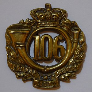 106th Regiment of Foot (Bombay Light Infantry) - Image: 106th rgt glengarry