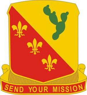 129th Field Artillery Regiment - Image: 129 FA Rgt DUI