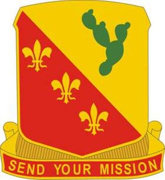 129th Field Artillery Regiment - Image: 129 FA Rgt DUI