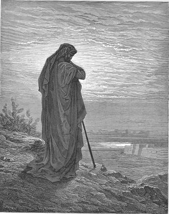 Jews as the chosen people - Prophet Amos as depicted by Gustave Doré