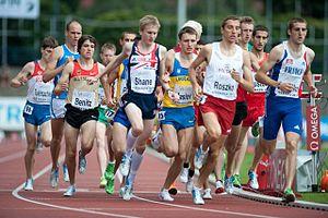 2011 European Athletics U23 Championships - Men's 1500m heat.