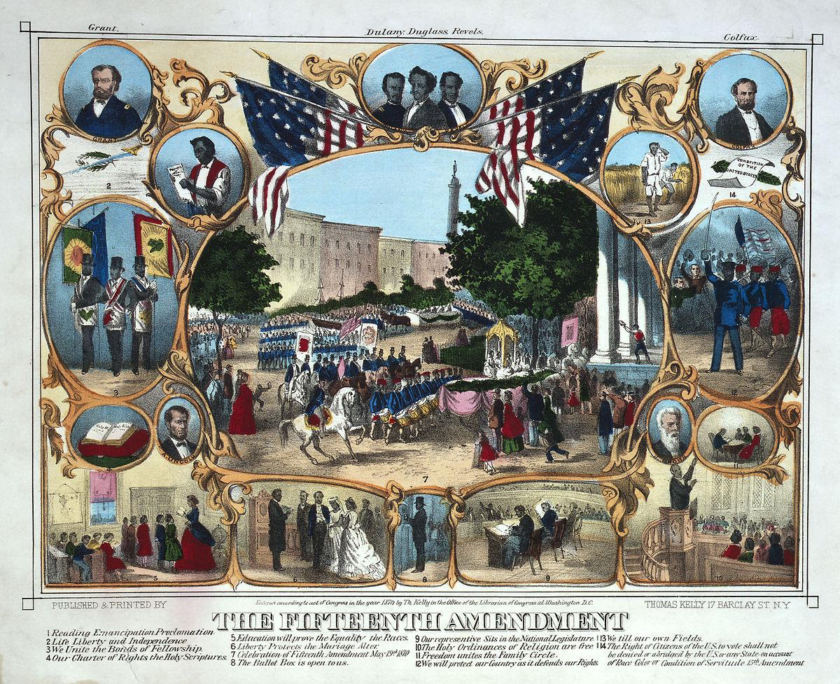 File15th Amendment Celebration 1870jpg Wikimedia Commons