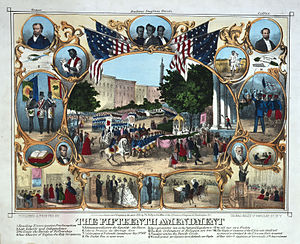 1870 celebration of the Fifteenth Amendment as...