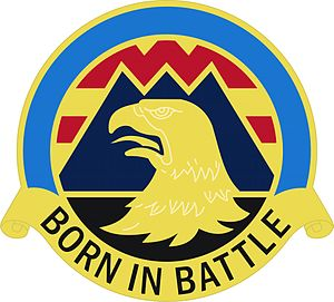 16th Combat Aviation Brigade (United States) - Image: 16 Avn Bde DUI