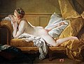 1751 Boucher Ruhendes Mädchen (Marie-Louise O'Murphy, Wallraf-Richartz Museum) anagoria.jpg
