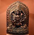 17th Century Statue of Hanuman and Bhairav (Hanu-Bhairav), two gods in One.jpg