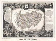 1852 Levasseur Map of the Department De La Meurthe, France - Geographicus - Meurthe-levasseur-1852.jpg