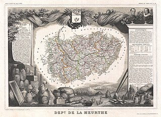 Meurthe (department) former department of France