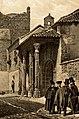 1853, Recuerdos y bellezas de España, Castilla la Nueva, tomo II, Cárcel, Talavera de la Reina (cropped) Cárcel de la Santa Hermandad.jpg