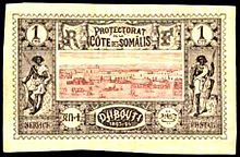 Postage stamps and postal history of Djibouti - Wikipedia, the ...