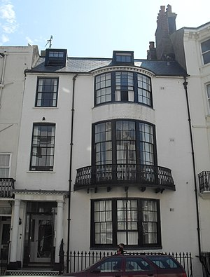 Grade II listed buildings in Brighton and Hove: M - Image: 18 Madeira Place, Brighton (NHLE Code 1381702)