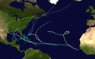 1900 Atlantic hurricane season hurricane season in the Atlantic Ocean