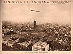 1913 Dirk Jan van der Ven Hannover in Panorama, Karl F. Wunder, Friedrich Astholz, Het Luchtschip Hansa boven Hannover.jpg