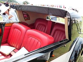 Coupe de Ville - Type II interior