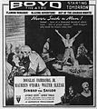 1947 - Boyd Theater Ad - 11 Mar MC - Allentown PA.jpg