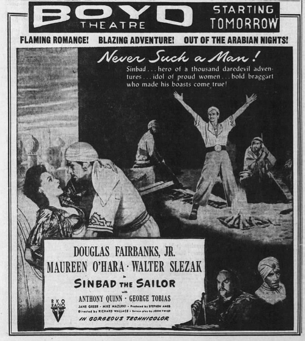 Arabian Nights Pelicula Completa Español simbad, el marino (película de 1947) - wikipedia, la