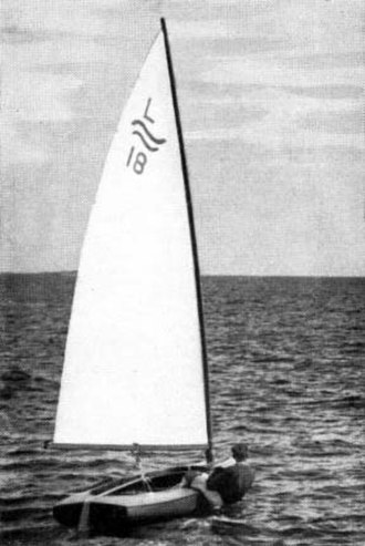 Sailing at the 1952 Summer Olympics - Image: 1952 Finn L18 Gold Medal